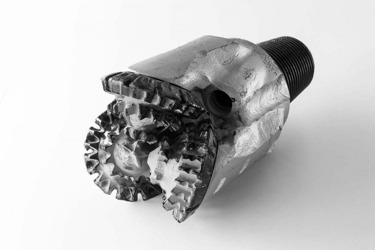 North Sea Oil Drill Bit, c.1980s Timespan Museum Collection. Photography by Anyuta Gillespie.