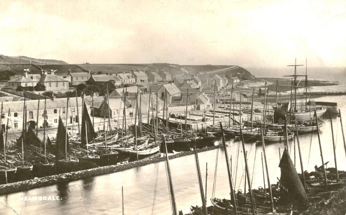 Helmsdale Harbour 1890